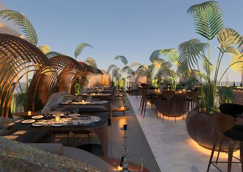 افتتاح مطعم  ألوندا الإيطالي الفينيسي في جزيرة نخلة جميرا